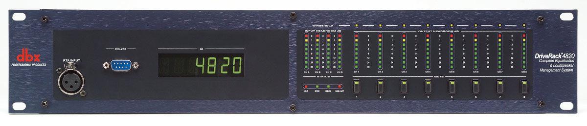 dbx 4820TO 4820 w/ output transformers