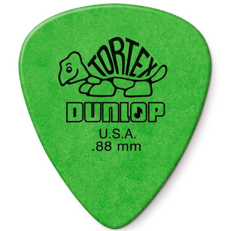 Dunlop Tortex Standard 0.88 Green trzalica