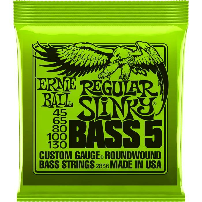Ernie Ball Regular Slinky Nickel Wound 2836 žice za petožičanu bas gitaru