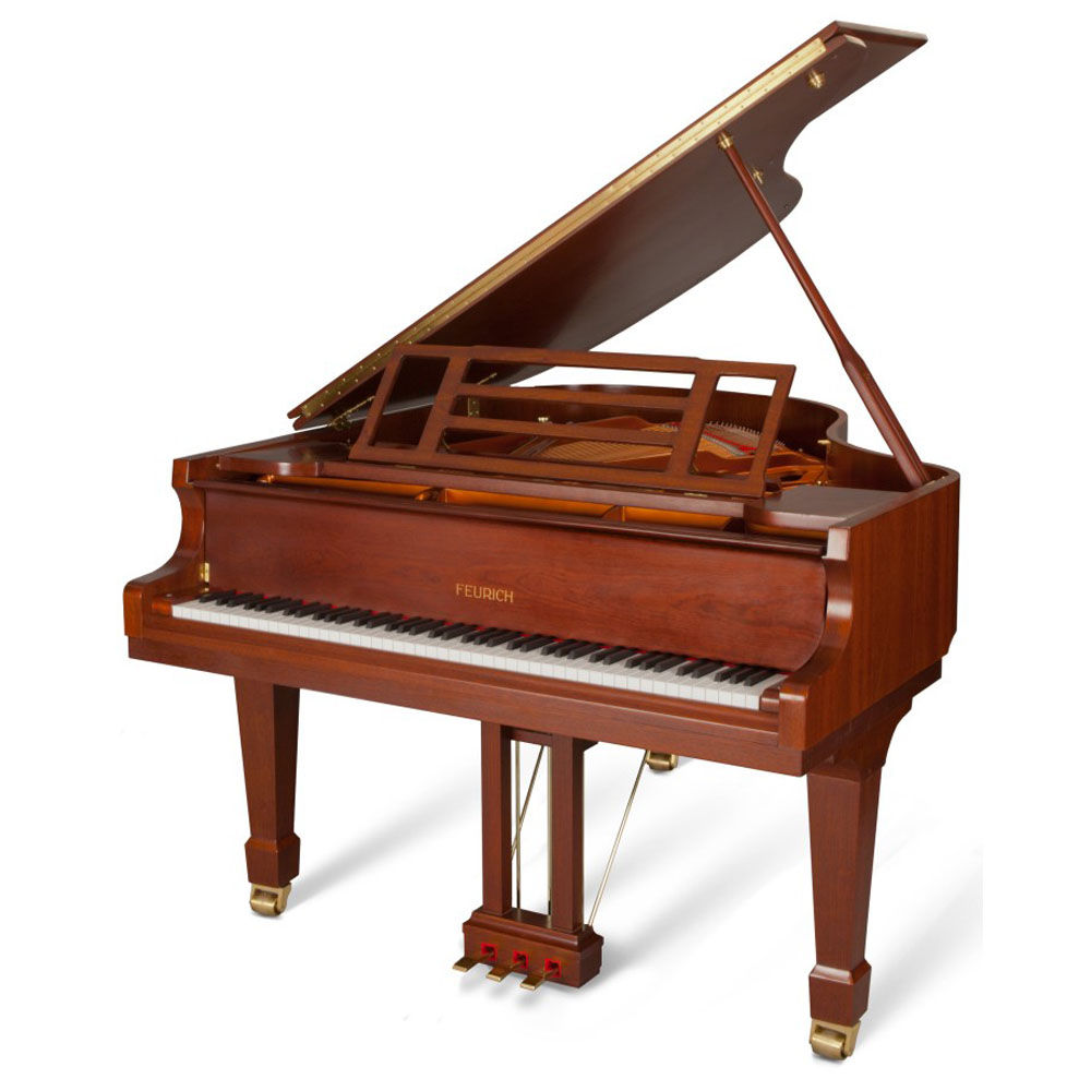 Feurich Grand Piano 161 Professional I walnut mat