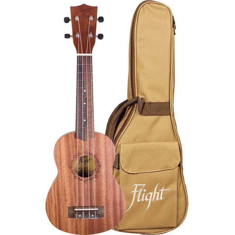 Flight NUS310 Sopran ukulele sa torbom