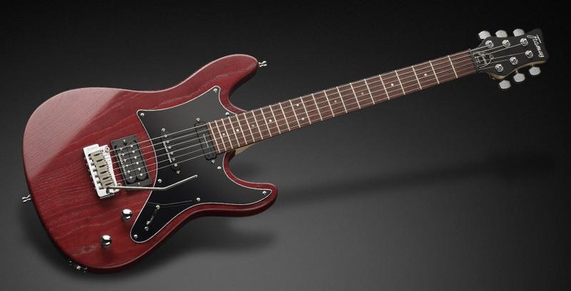 Framus Diablo Pro Burgundy Red Transparent Satin električna gitara