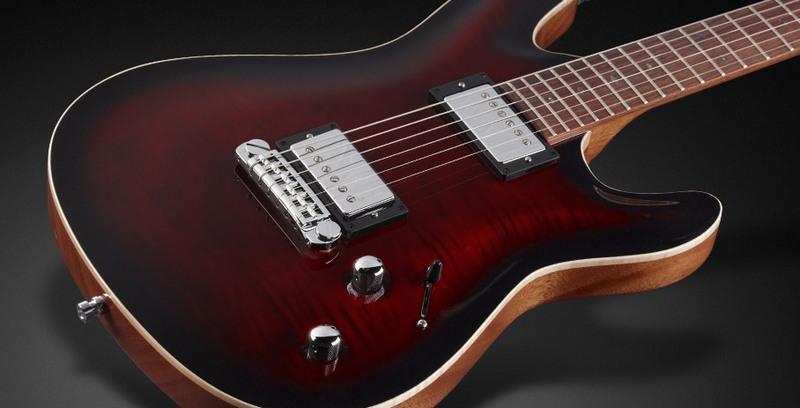 Framus Diablo Supreme Burgundy Blackburst  električna gitara