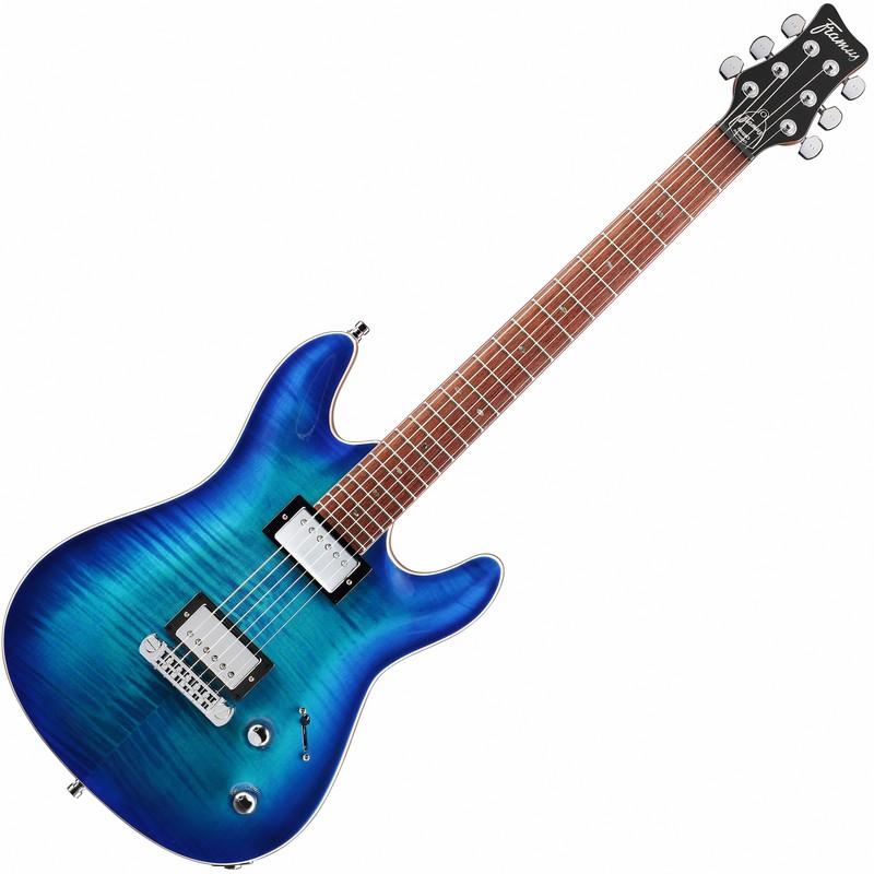 Framus Diablo Supreme Lagoon Blue Burst električna gitara