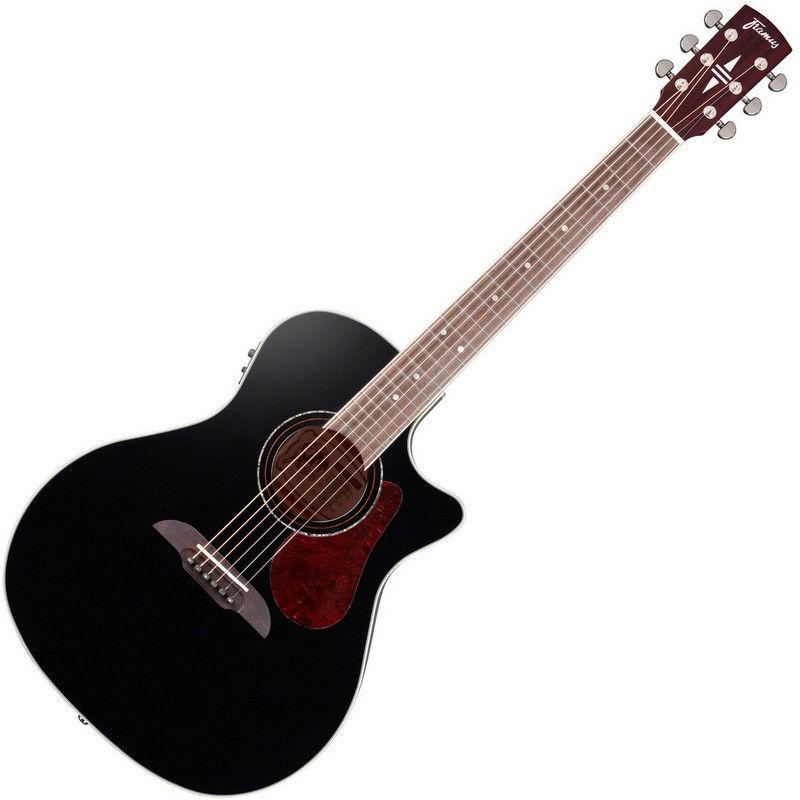 Framus FG 14S BK CE ozvučena akustična gitara