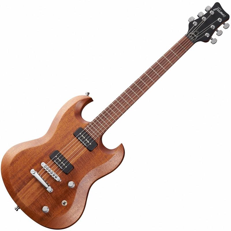Framus Phil XG PX90/PX90 Natural Transparent Satin električna gitara
