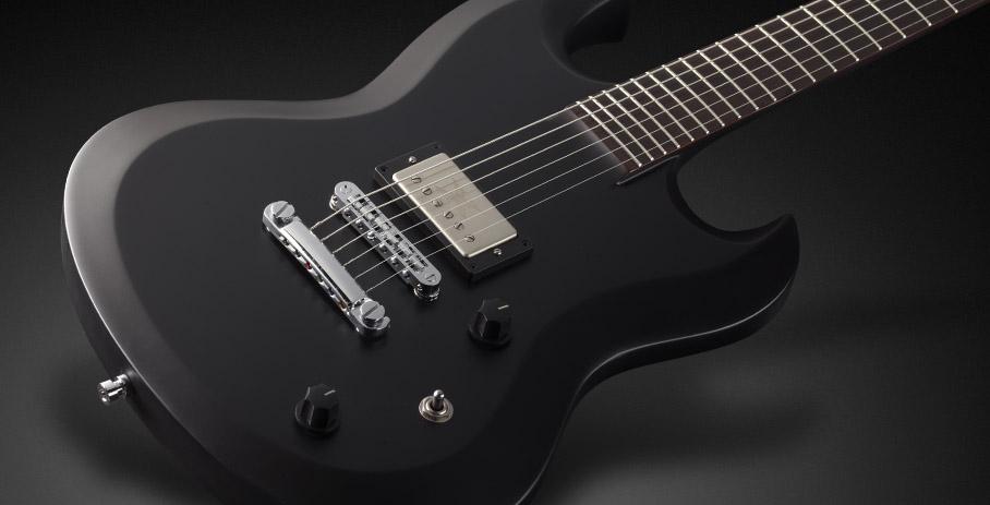 Framus Phil XG X8 Solid Satin Black električna gitara
