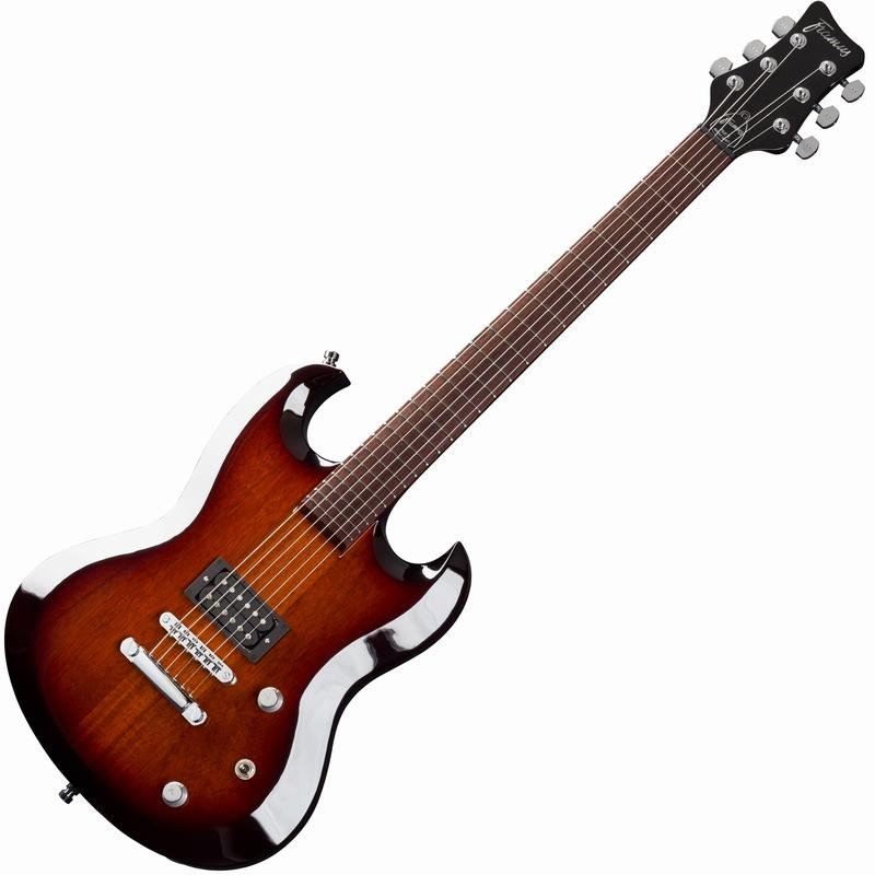 Framus Phil XG X8 Vintage Sunburst električna gitara