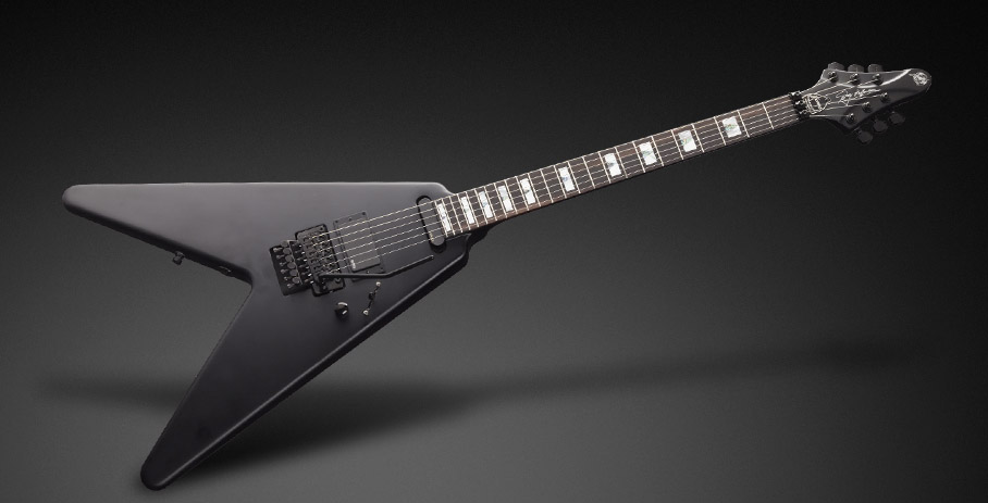 Framus WH1 Wolf Hoffmann satin black signature series električna gitara