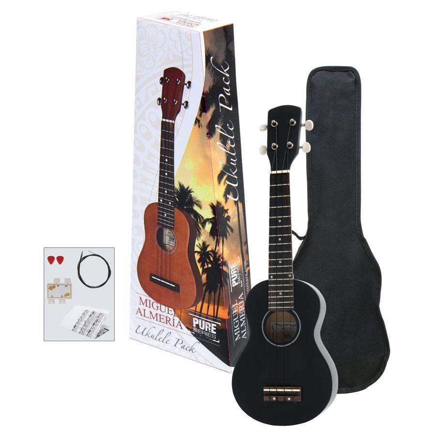 GewaPure Almeria PS502822 sopran ukulele Pack BK