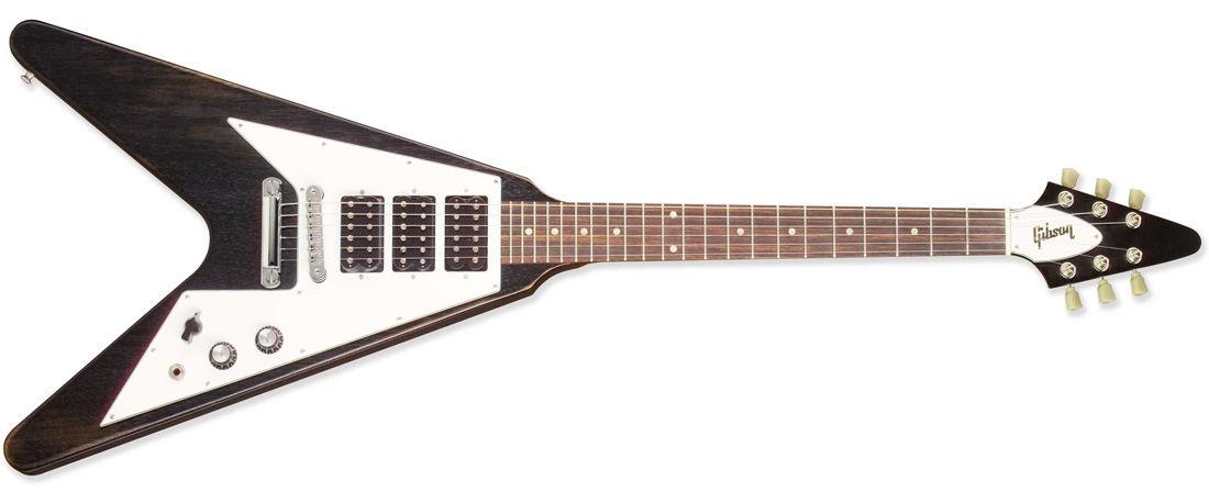 Gibson Flying V Faded 3-Pickup – Worn Ebony