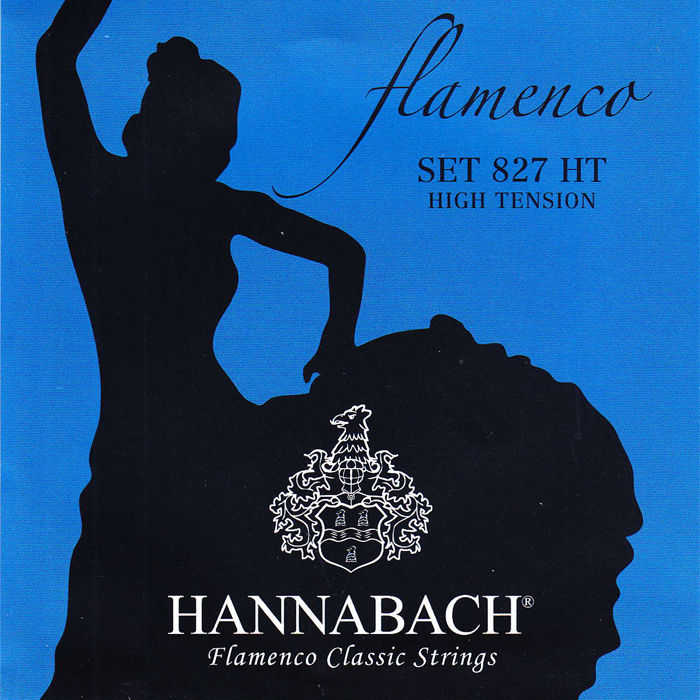 Hannabach 827HT Flamenco žice za klasičnu gitaru (High tension)
