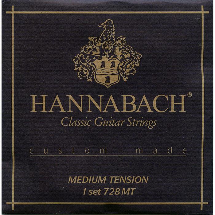 Hannabach Custom Made 728MT žice za klasičnu gitaru