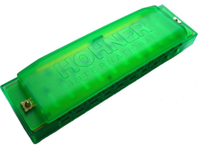 Hohner Happy Color Harp M91600 usna harmonika zelena
