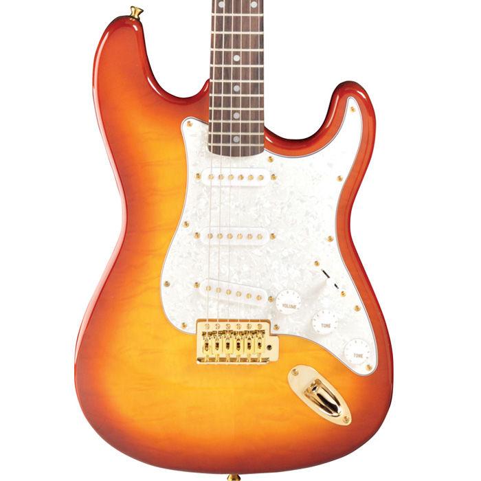 Jay Turser JT-300 QMT AMB električna gitara