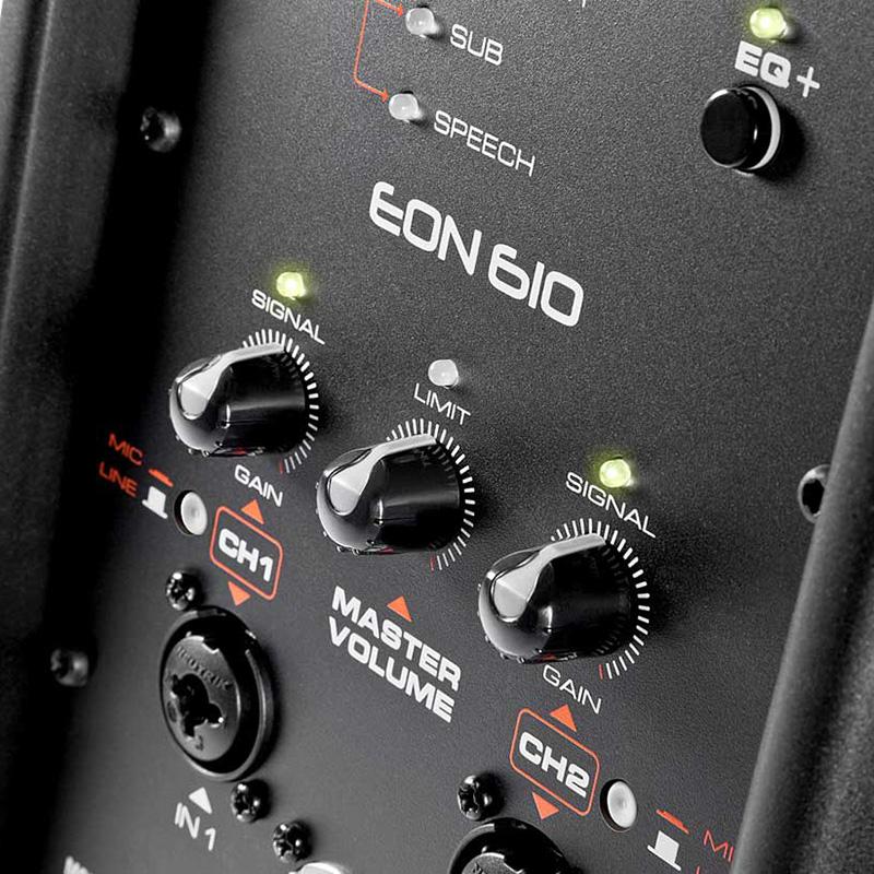 JBL EON610 aktivna zvučna kutija