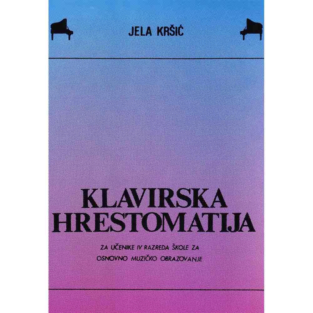 Jela Kršić – Klavirska Hrestomatija IV