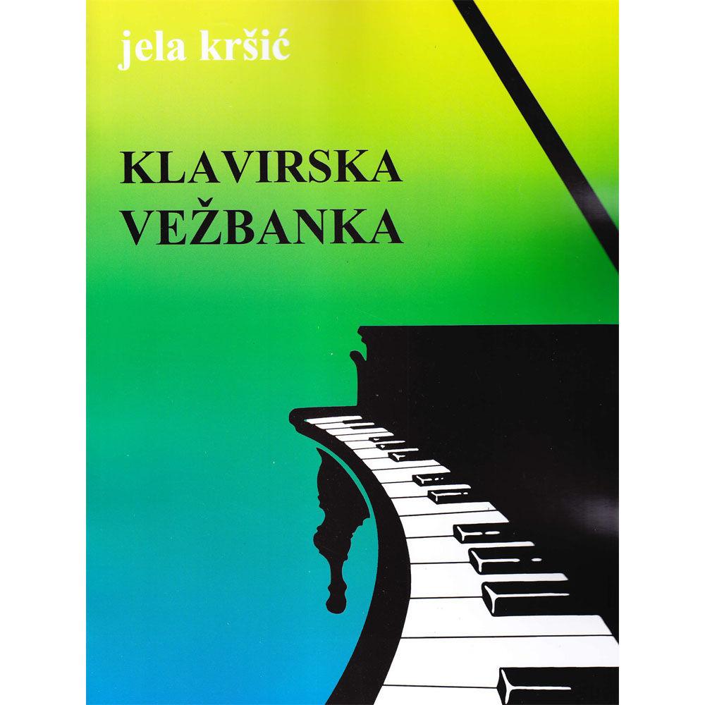 Jela Kršić – Klavirska vežbanka za III razred osnovne muzičke škole