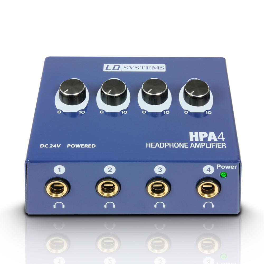LD Systems HPA 4 pojačalo za slušalice