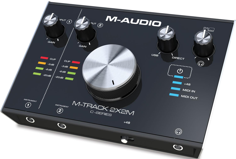 M-Audio M-Track 2X2M audio interfejs