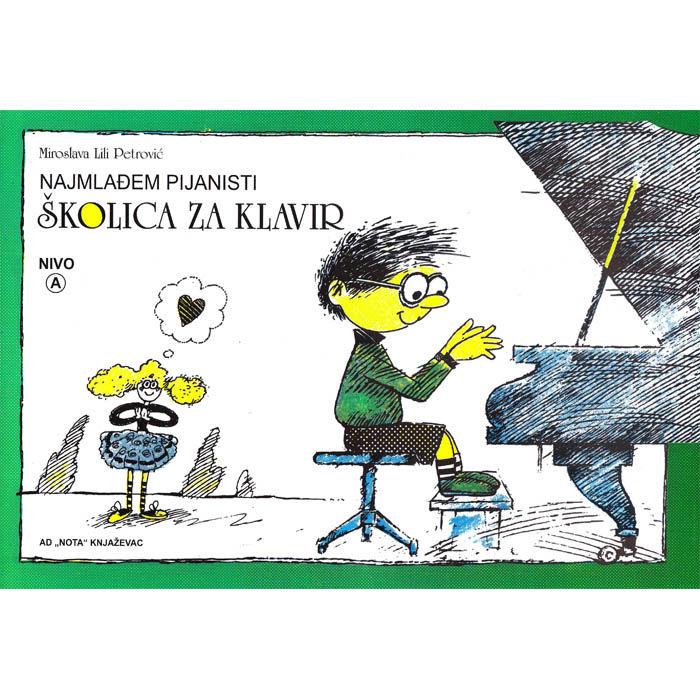 Miroslava Lili Petrović – Školica za klavir Nivo A