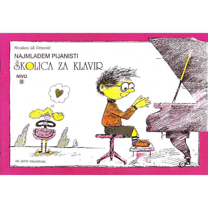 Miroslava Lili Petrović – Školica za klavir Nivo B
