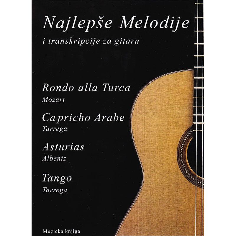 Najlepše melodije i transkripcije za gitaru 1