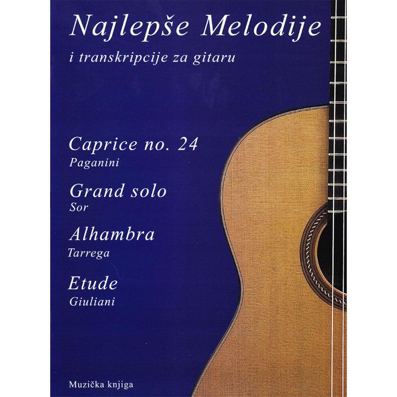Najlepše melodije i transkripcije za gitaru 2