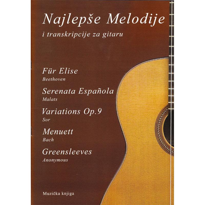 Najlepše melodije i transkripcije za gitaru 3