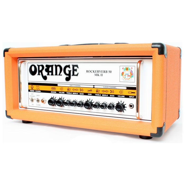 Orange Rockerverb 50 MKII gitarsko pojačalo glava