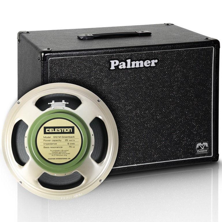 Palmer 1X12″ PCAB112GBK Celestion Greenback gitarska kutija