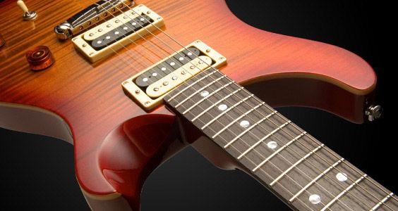 PRS SE Custom 22 električna gitara Cherry Sunburst Stoptail Bridge