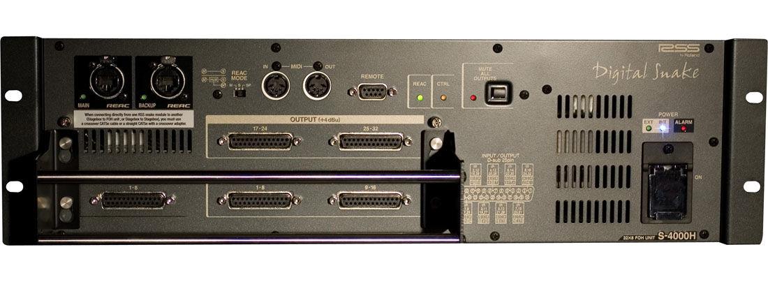 Roland S-4000H Digital Snake FOH Unit