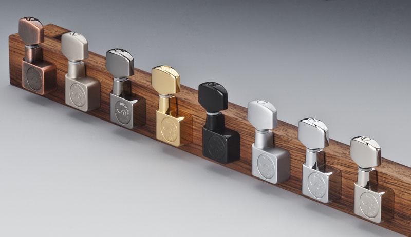 Schaller F-series Nickel Standard 6 levih čivija za električnu gitaru 10560120