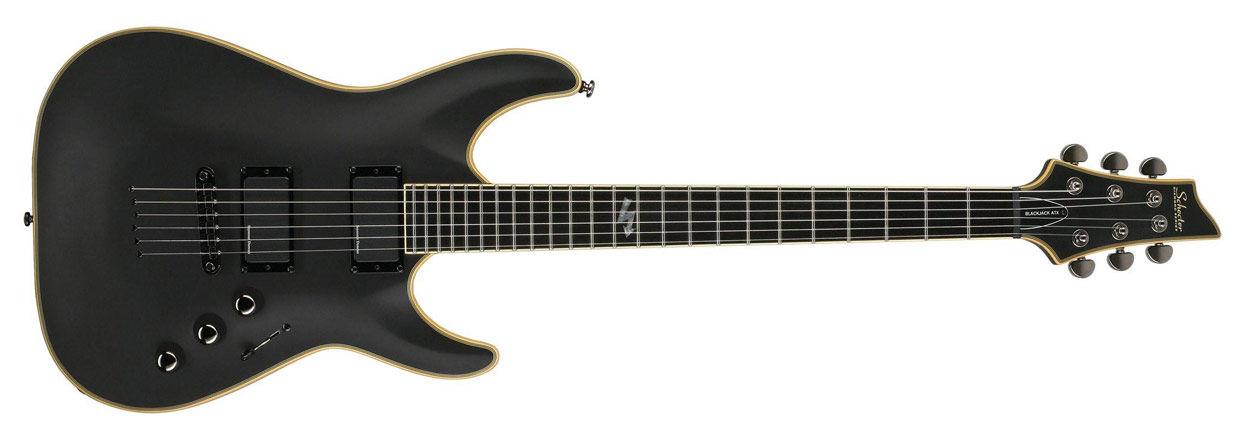 Schecter C-1 Blackjack ATX Aged Black Satin električna gitara