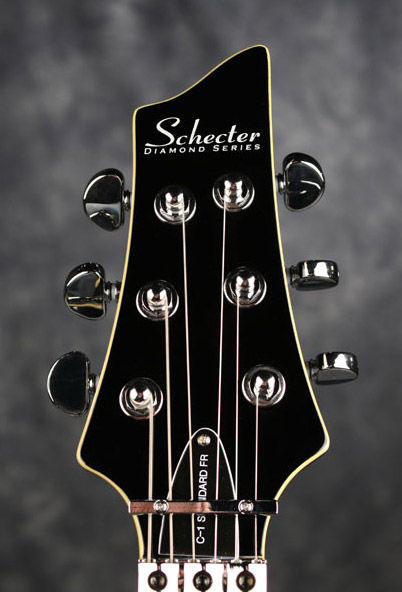 Schecter C-1 FR Standard Gloss Black električna gitara