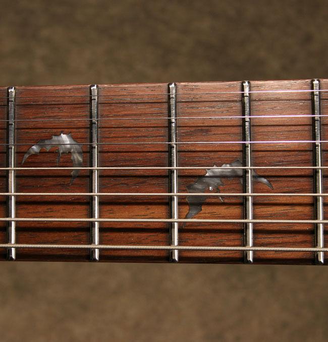Schecter Damien 7 Satin Black električna gitara