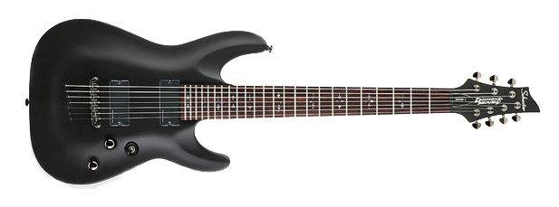 Schecter Demon-7 Satin Black električna gitara