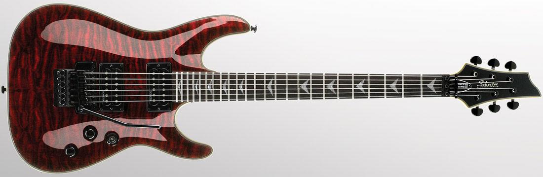 Schecter Diamond Omen-6 FR Extreme BCH eleltrična gitara
