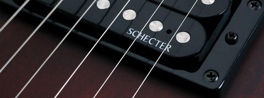 Schecter Omen-7 Walnut Satin električna gitara