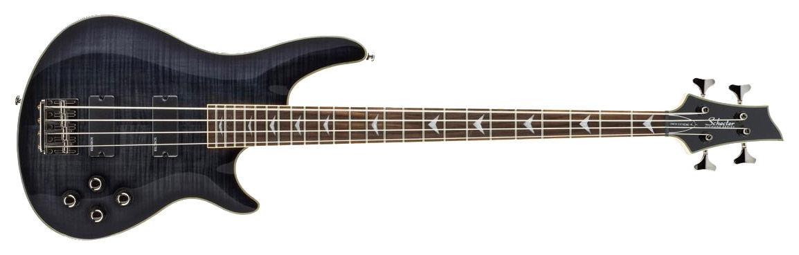 Schecter Omen Extreme 4 See-Thru Black bas gitara