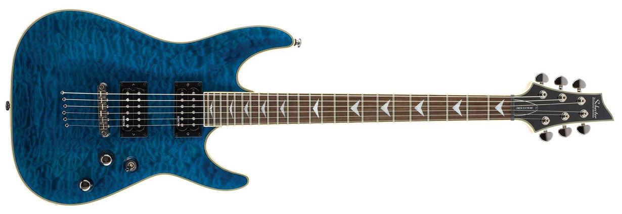Schecter Omen Extreme 6 Trans Ocean Blue električna gitara