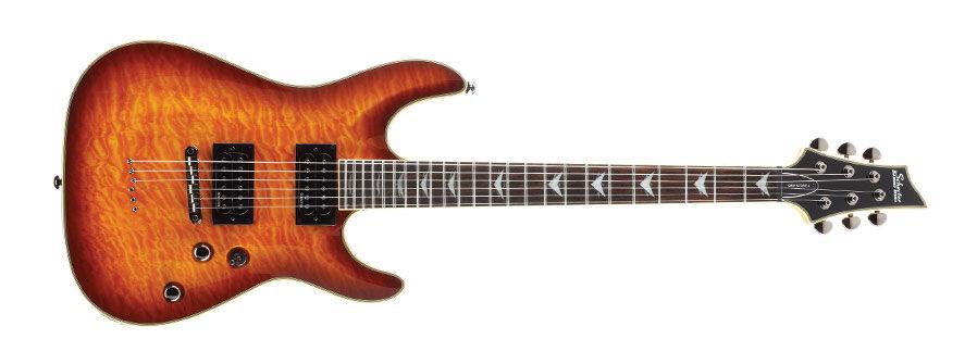 Schecter Omen Extreme 6 Vintage Sunburst električna gitara