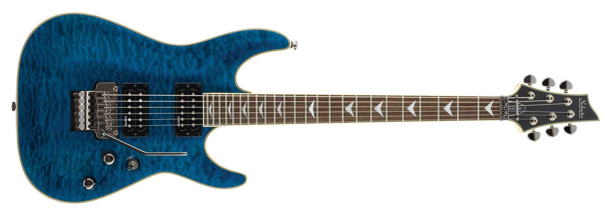 Schecter Omen Extreme-FR Trans Ocean Blue