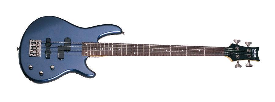Schecter Raiden Deluxe-4 Dark Metallic Blue bas gitara