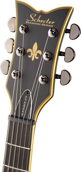 Schecter Solo-6 ATX Aged BLK Satin 2010 električna gitara
