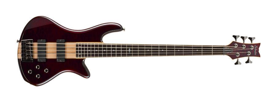 Schecter Stiletto Elite 5 STC bas gitara