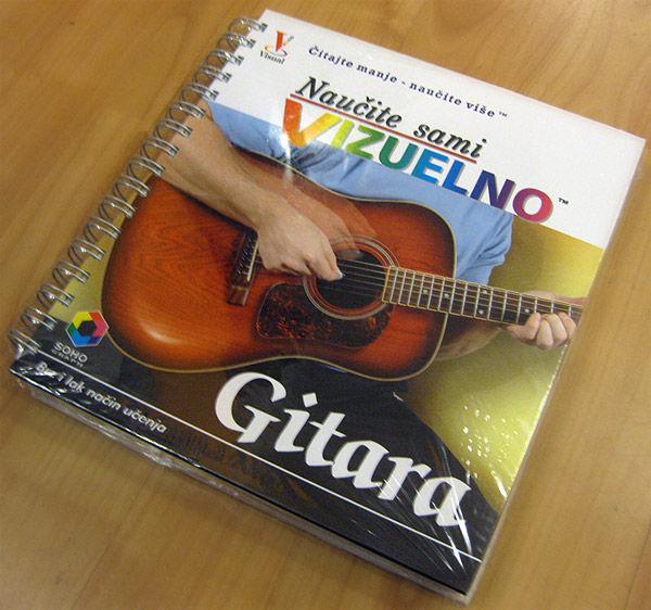 Škola gitare – Naučite sami vizuelno