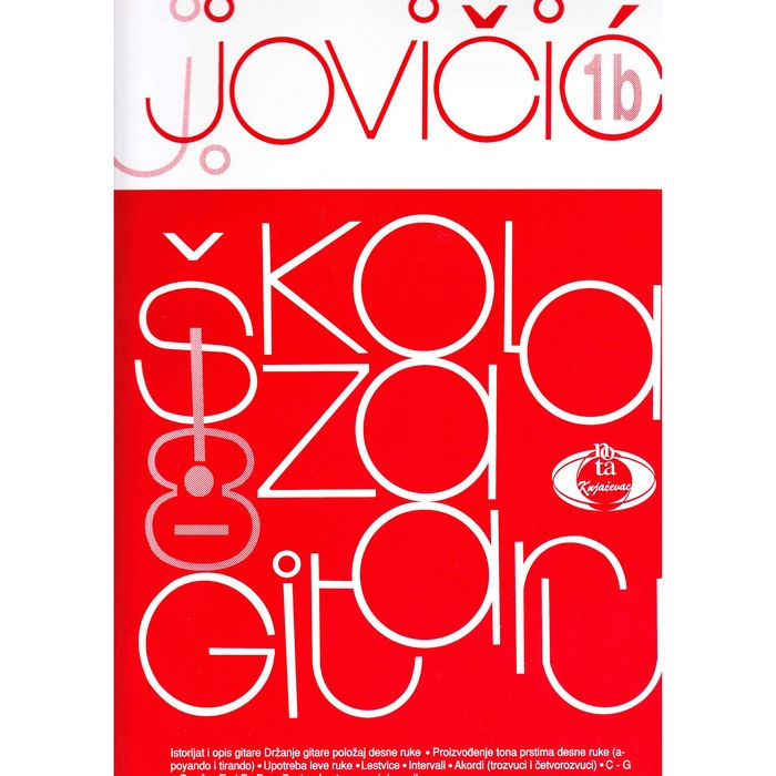 Škola za gitaru 1b Jovan Jovičić