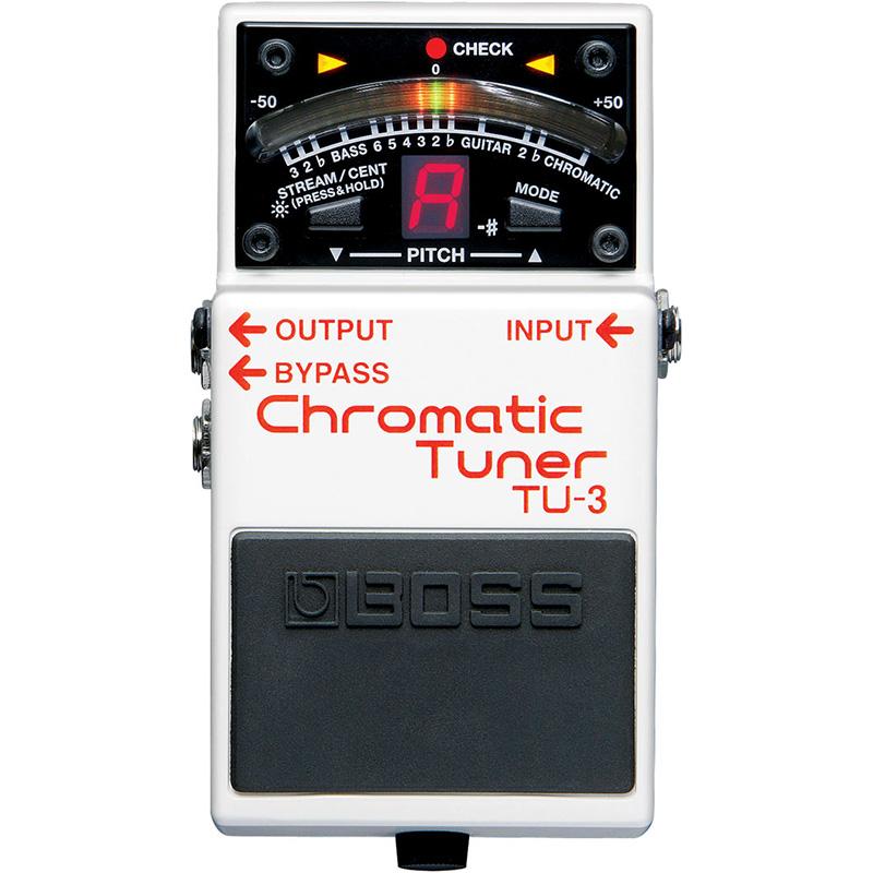 Boss TU-3 hromatski tuner za gitaru